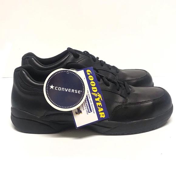 3a7160b9aa6d Converse Steel Toe Shoes 14 M Work Black Leather. NWT. Converse.  M 5c69d81c6a0bb74a2217e081. M 5c69d7187386bcb9aa0b30d2.  M 5c69d7753c9844d6f3d0a1d6